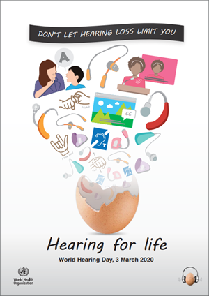 World Hearing Day – Tuesday 3rd March